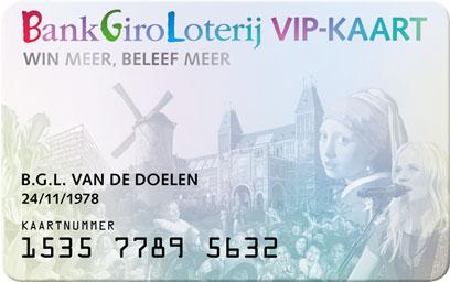 Bankgiro loterij VIP kaart