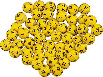 Eurojackpot ballen