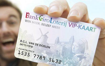 Bankgiroloterij recordopbrengst 74,8 mlj goede doelen