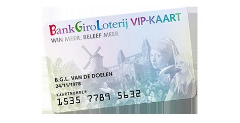 bankgiro loterij vip kaart verkijgen