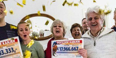Postcodeloterij 1 Miljoen Prijs in Zaandam