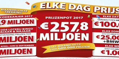 Loterijen Geven Regelmatig Cadeau's Weg Aan Deelnemers
