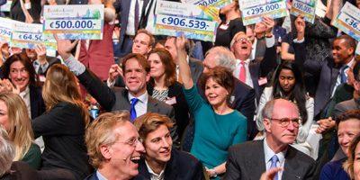 BankGiro Loterij doneert € 74,8 miljoen aan cultuur in Nederland